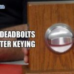 Abloy Deadbolts and Master Keying | Mr. Locksmith Blog