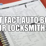 Fast Facts Auto Book for Locksmiths | Mr. Locksmith Automotive Training